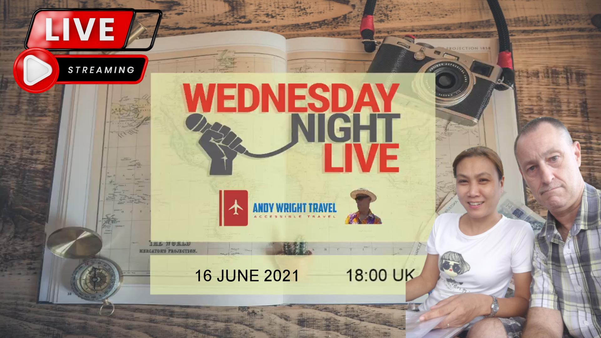 AWT Livestream, 16 June